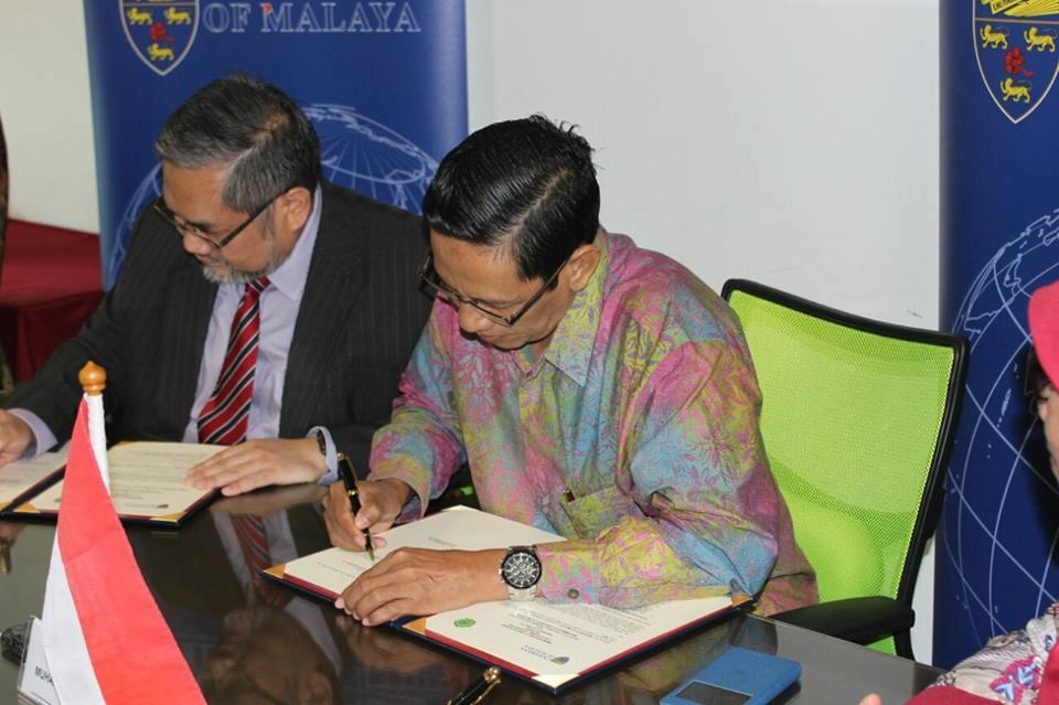 MoU dengang University Kebangsaan Malaysia, di Lanjutkan Seminar Internasional