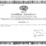 Bahasa Arab (Terakreditasi B)