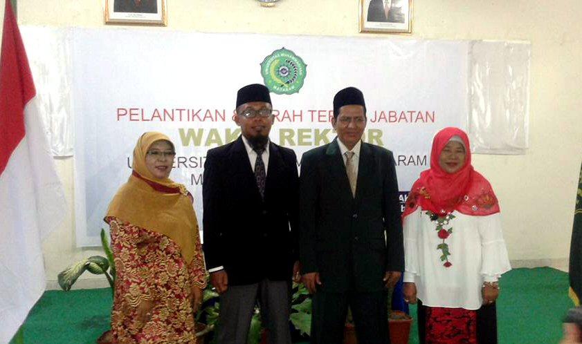 Pelantikan Wakil Rektor UMMAT Periode 2017-2021